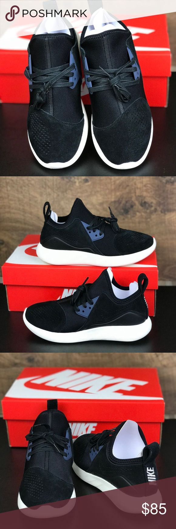 NWT Nike Lunarcharge PRM Black WMNS Brand new with box. Price is firm!  Lunarlon foam teams up with a breathable cut-and-sew upper on this easygoing, soon to be favorite sneaker. Built for all day comfort, these laid back sneaks boast a foot-hugging stretchy suede/synthetic/textile upper, while the bootie construction and heel pull tab ensure you can pull these babies on easily. Flexible and light, these sneakers also feature laser-cut pods for enhanced traction as you take on the day. Nike…