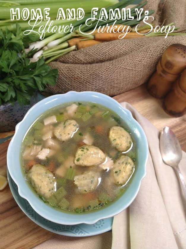 31 best thanksgiving images on pinterest family tv hallmark cristina ferrares roasted leftover turkey soup with dumplings forumfinder Choice Image