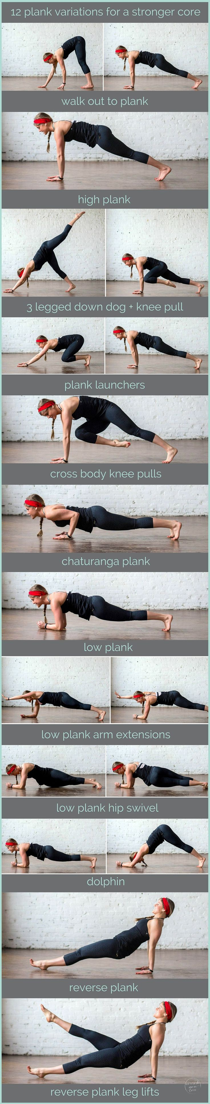 12 Plank Variations for a Stronger Core_POP OUT PIN