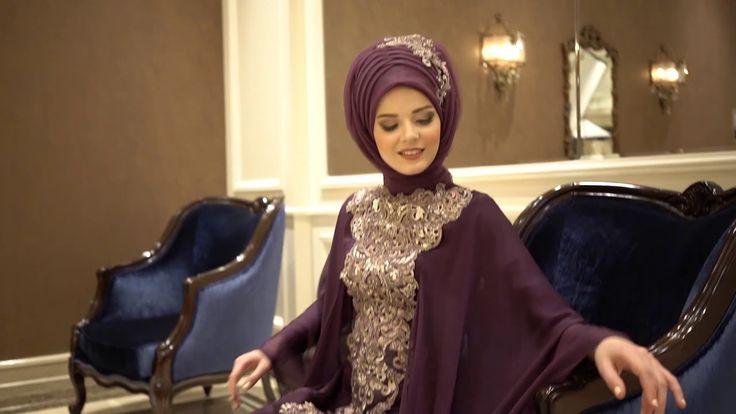 70f636e730cea 2019 Hijab Fashion – 2019 Tesettür Abiye Modası   Sosyal Penguen