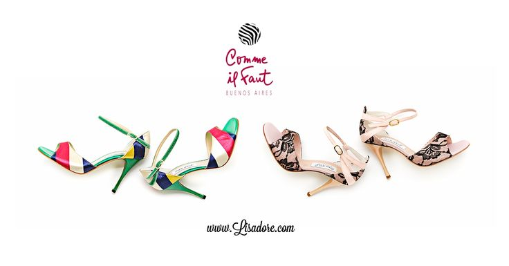 World's Finest Collection of Comme il Faut shoes - Argentine Tango Shoes. Elegant, Exclusive, Handmade, Comfortable, Feminine. Available at www.Lisadore.com