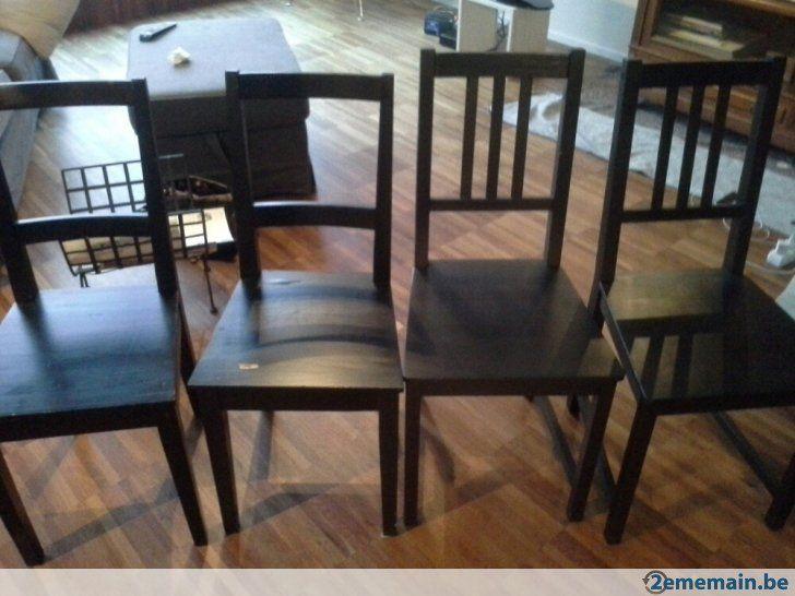1000 id es propos de chaises de salle manger noires sur pinterest design int rieur for Chaises salle a manger en bois pour deco cuisine