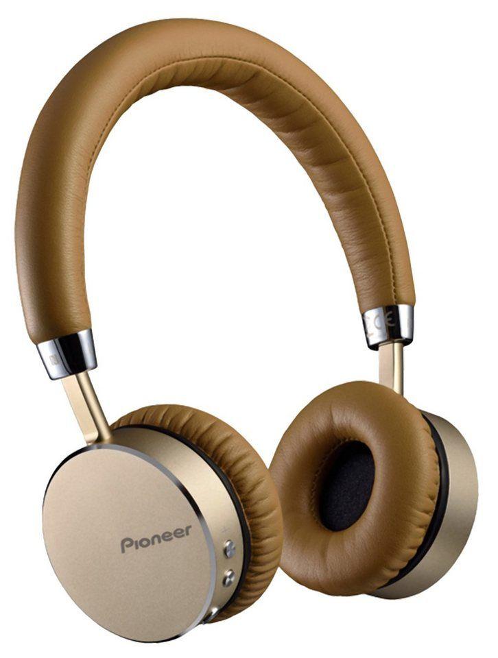 PIONEER Bluetooth On-Ear Kopfhörer aus Aluminium »SE-MJ561BT«
