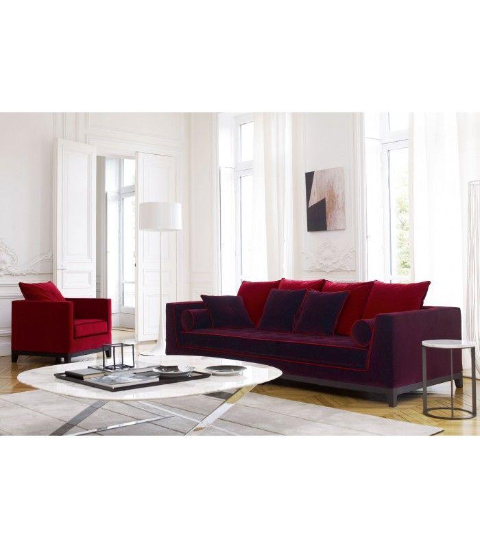 #Sofa Lutetia #Maxalto buy at #italian #design #outlet €2852,60 € #living #inspirations Divano #Lutetia Pelle Maxalto