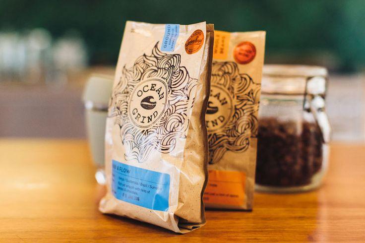 Ocean Grind Micro-Coffee Roasters on the JOCO blog - https://jococups.com/blog/2015/03/12/ocean-grind-a-micro-coffee-roastingcompany/ - JOCO reusable glass cups. #jococups #specialtycoffee #microcoffeeroaster #oceangrindcoffee