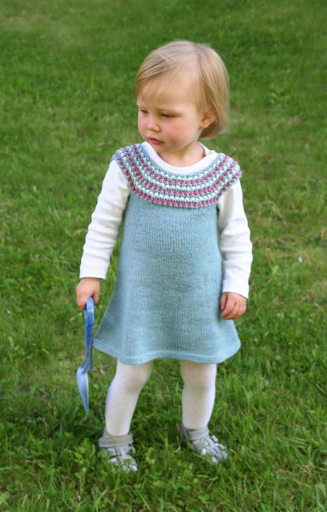 pattern i couldn't find last summer for kiddo's knit dress