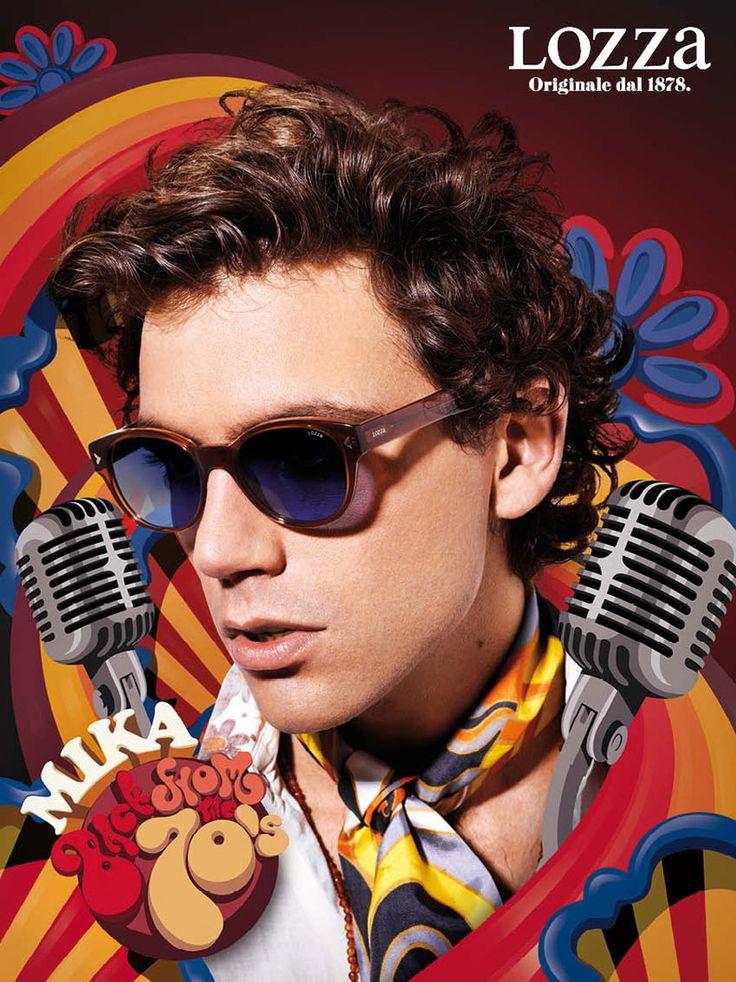 Mika Lozza eyewear ad 2012