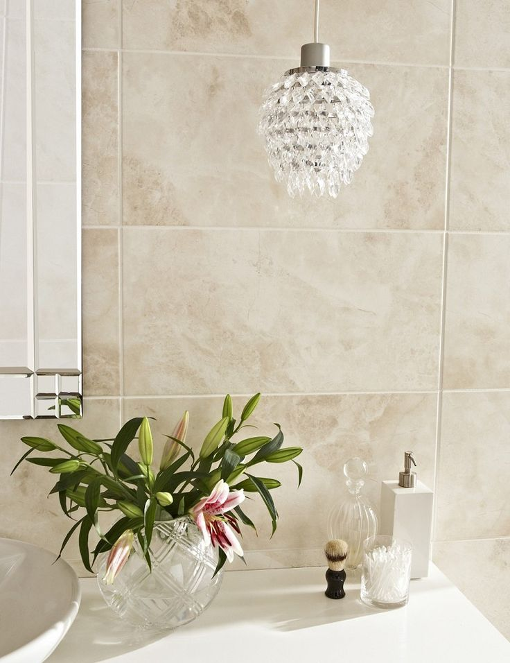 Cappuccino Satin Wall & Floor Tile (30x60cm) | Topps Tiles