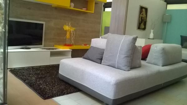 Sofa #SANDERS on our showroom Abitare Imola.