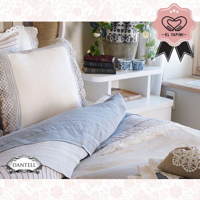 El işçiliğini baş tacı ederek hazırladığımız yatak takımları, dantelin romantik havasını modern çizgilerle buluşturuyor.