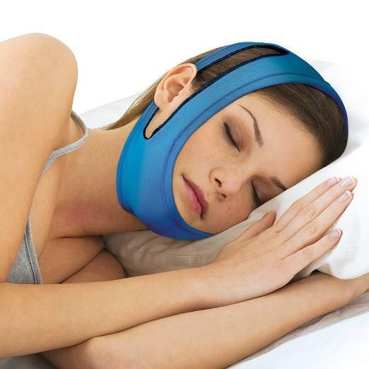 North American Healthware fitness anti-snore strap adjustable chin strap sleeping device keeps mouth closed at night