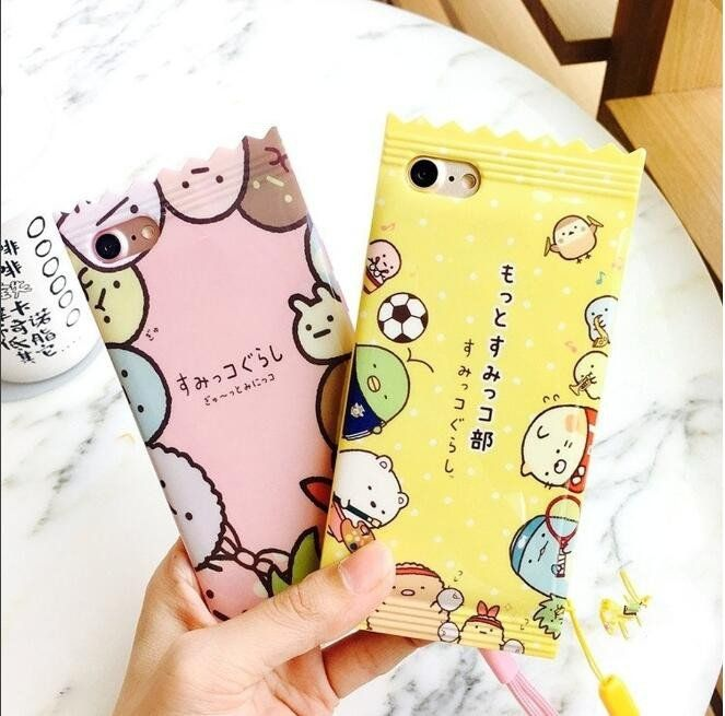 "Cute cartoon candy phone case SE9671  use code: ""puririnhime"" to get 10% OFF everytime you shop at www.sanrense.com"