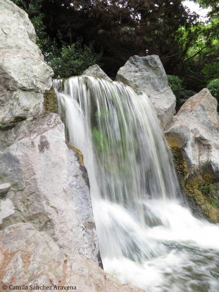 La Serena, Chile waterfall