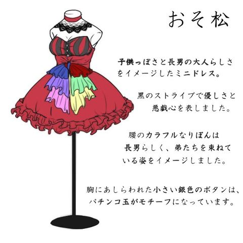 Osomatsu dress