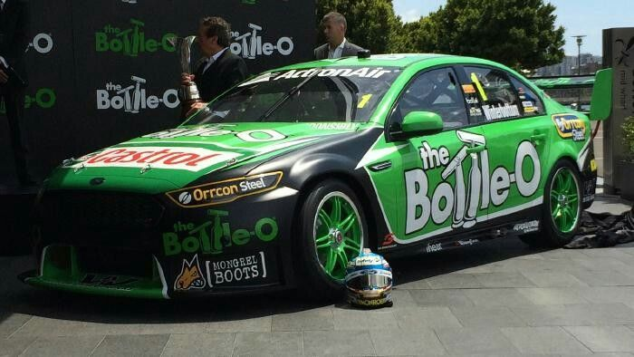 V8 Supercars 2016: Mark Winterbottom's new look car, No. 1 Ford Falcon