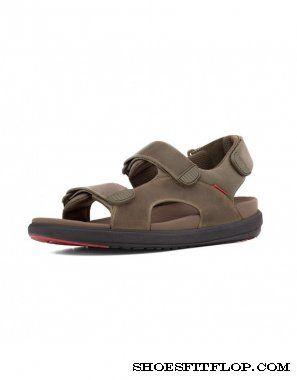 Fitflop Mens Sandals Landsurfer Stormy #fitflop #shoes #sandals #men