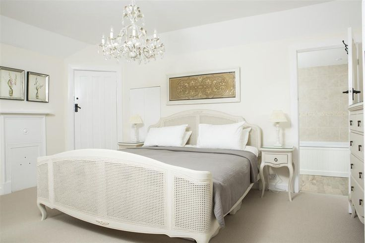 Take a well deserved rest in the beautiful Master Bedroom at Lower Goosewell Cottage, Thurlestone
