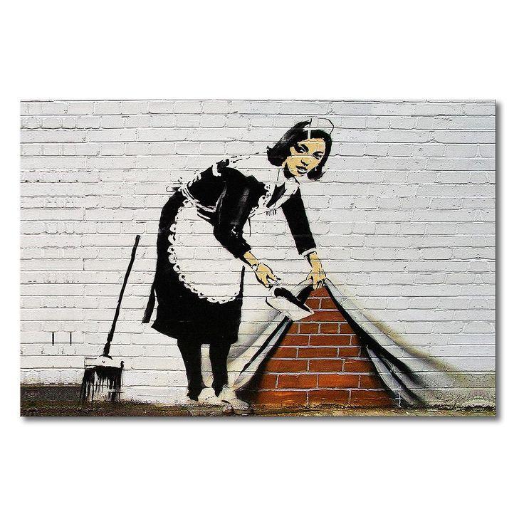 25 best ideas about banksy wall art on pinterest. Black Bedroom Furniture Sets. Home Design Ideas