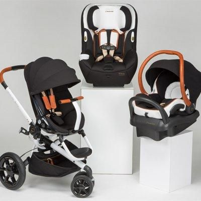 See the fashion-forward new stroller and car seat collection by Rachel Zoe for Quinny and Maxi-Cosi, which debuted at the ABC Kids Expo.