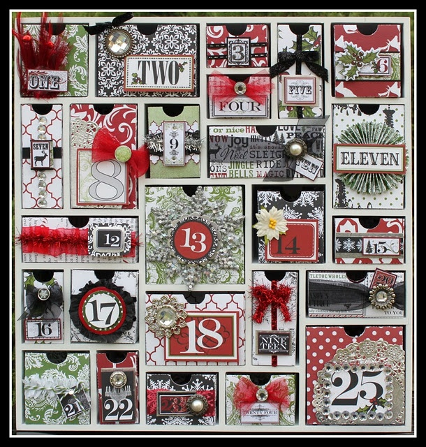 Teresa Collins paper and design advent calendar
