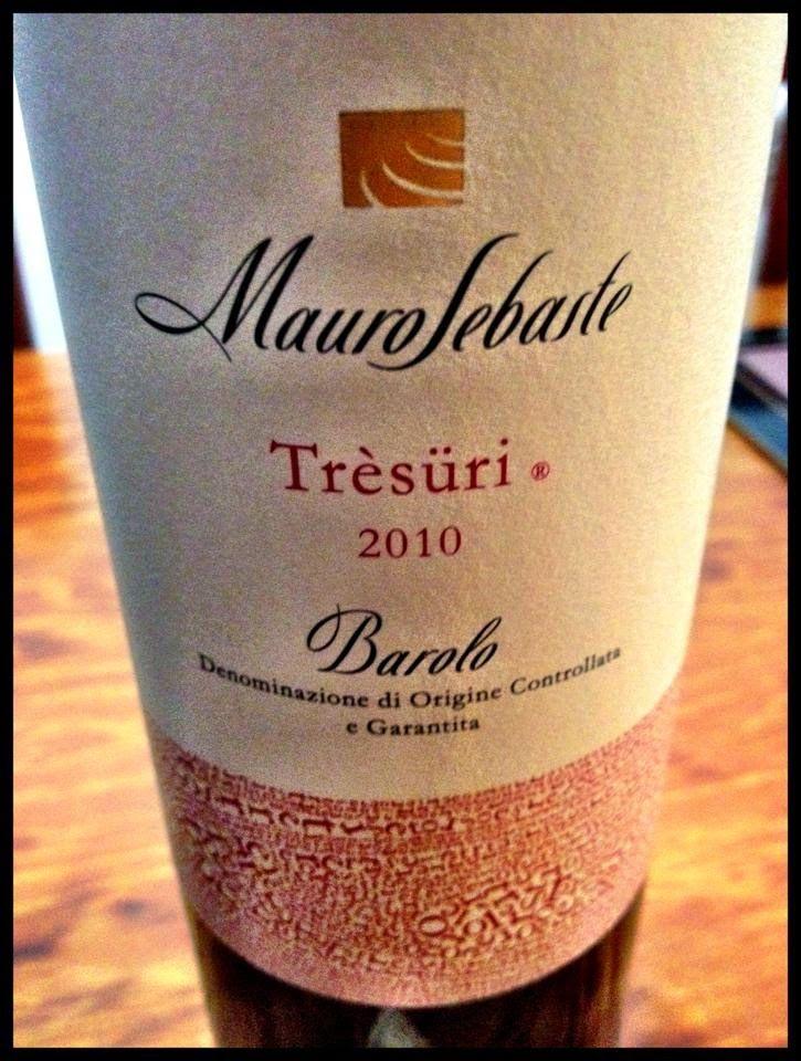 El Alma del Vino.: Mauro Sebaste Trèsüri Barolo 2010.