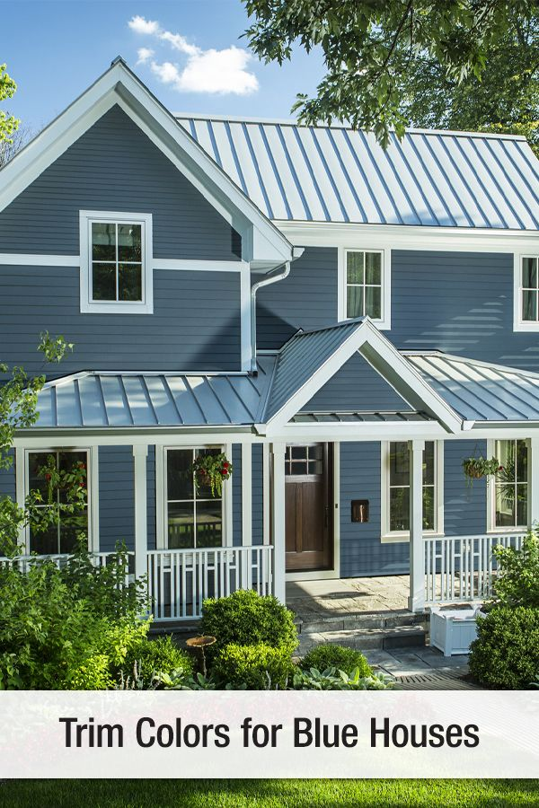 Trim Colors For Blue Houses Tin Roof House Metal Roof Colors Metal Roof Cost