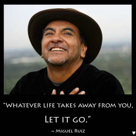 The Four Agreements is one of my all time favorite books.  Take ten minutes to get acquainted with Miguel Ruiz and his most popular book of Toltec wisdom. <3