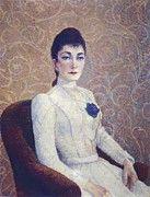 "New artwork for sale! - "" La Dame La Robe Blanche 1886 by DuboisPillet Albert "" - http://ift.tt/2iratYF"