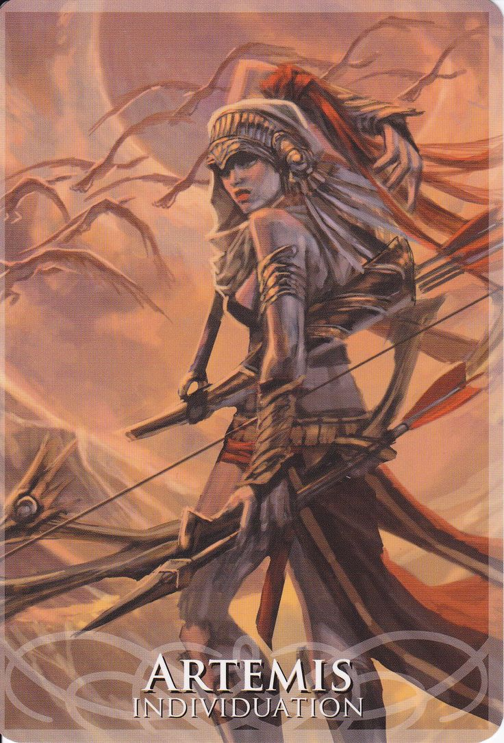 Artemis in Goddesses&Sirens by Stacey Demarco&Jimmy Manton
