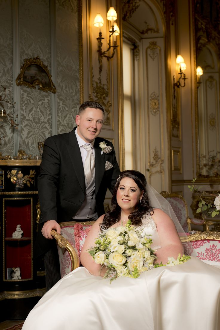 Congratulations to Mr & Mrs Watkinson! A stunning wedding to capture at Belvoir Castle. Here's one of the lovely couple straight after their ceremony in the Elizabethan suite.  >> Follow me here - https://mattselbyphotography.co.uk