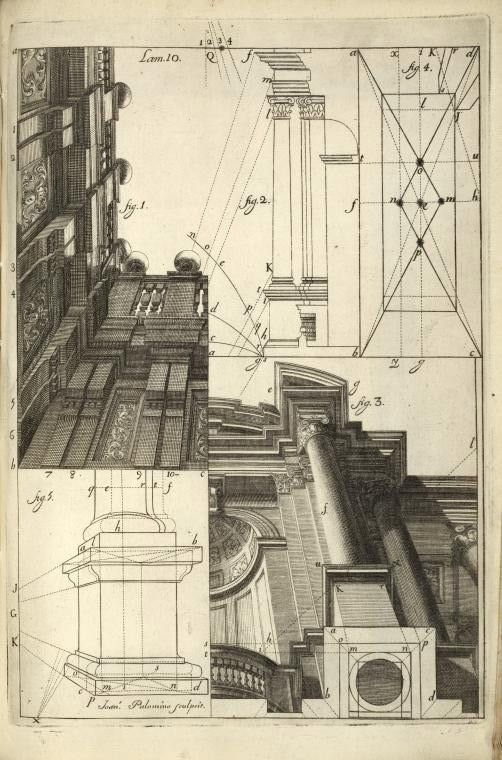 I love perspective drawings displayed as art