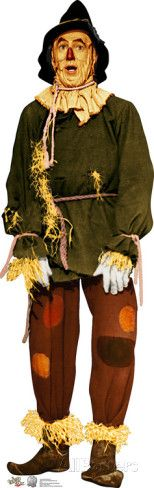Scarecrow - Wizard of Oz 75th Anniversary Lifesize Standup Cardboard Cutouts at AllPosters.com