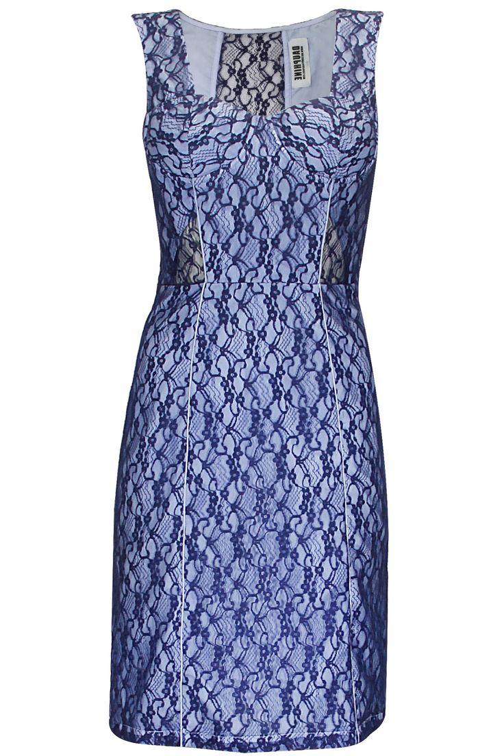 Blue lace dress by Dauphine. Shop at: www.perniaspopups.... #dress #chic #fashion #dauphine #shopnow #perniaspopupshop #happyshopping