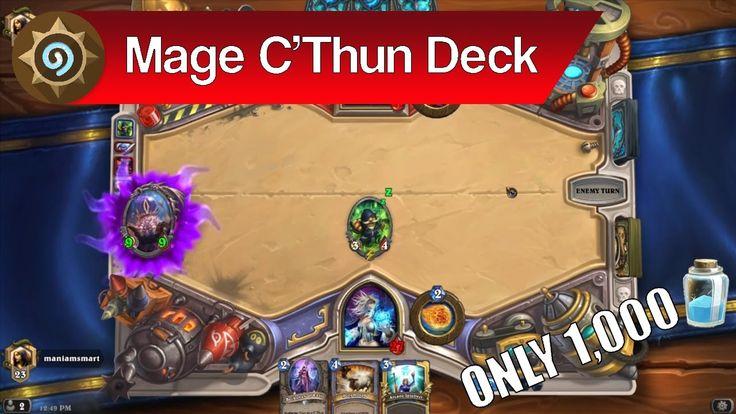 Hearthstone: C'Thun Mage Deck Tutorial – Cheap Mage Deck Guide | Hearths...