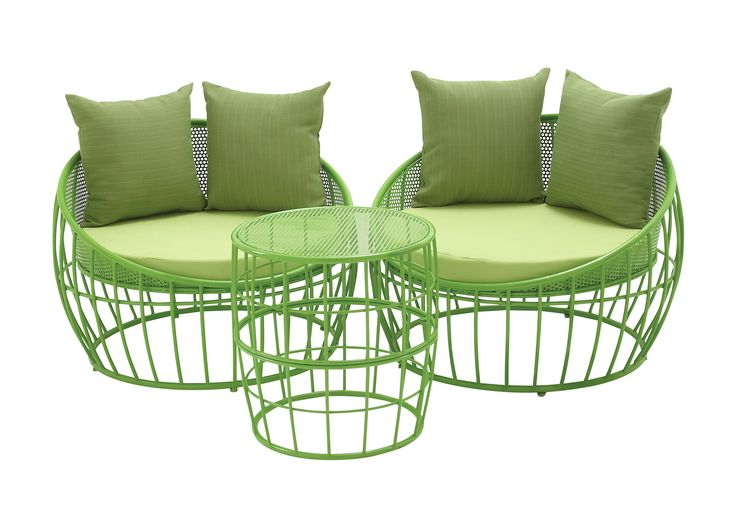 Jeremiah 3-Piece Lounge Seating Group