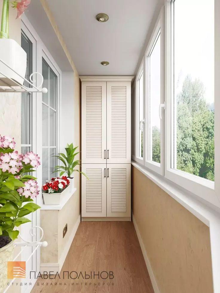 Фото лоджия из проекта «Лоджии, балконы, террасы »