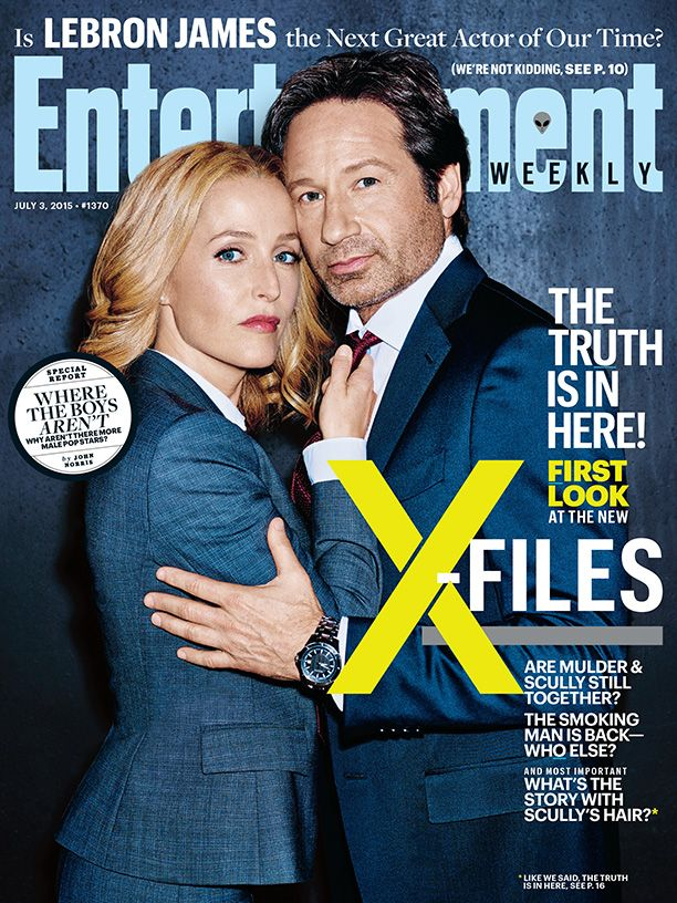 They're heeeere! David Duchovny and Gillian Anderson have reuinted as Mulder and Scully for the X-Files revival series, and EW was first on the scene, getting the scoop as cameras rolled during the very first week of production.