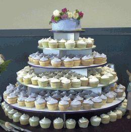 The Original Cupcake Tree  - Large Round   (holds up to 300 cupcakes) $35