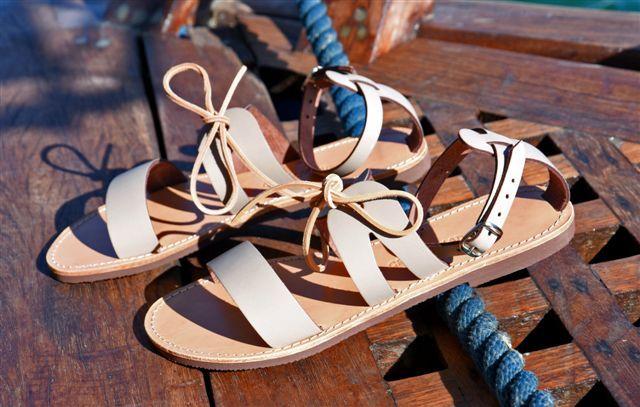 Elegance, simplicity and style! #greeksaladsandals #greekbrandnew #GBN17 #greeksummer #madeinGreece