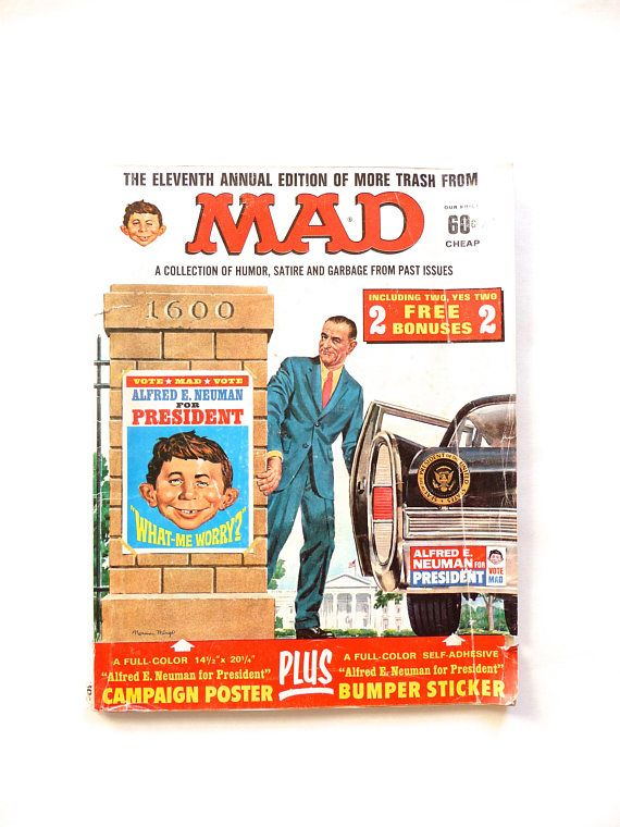 Mad Magazine The Eleventh Annual Edition of More Trash from