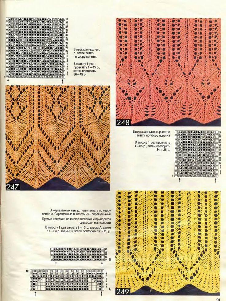 116 best knitting edging images on Pinterest   Strick, Strickmaschen ...