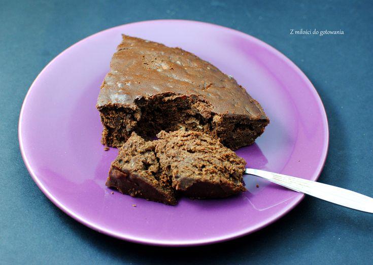 Czekoladowe, bezglutenowe ciasto dla diabetyków