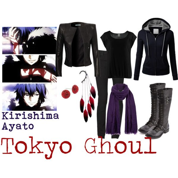 """Kirishima Ayato - Tokyo Ghoul"" by valeriaest on Polyvore"