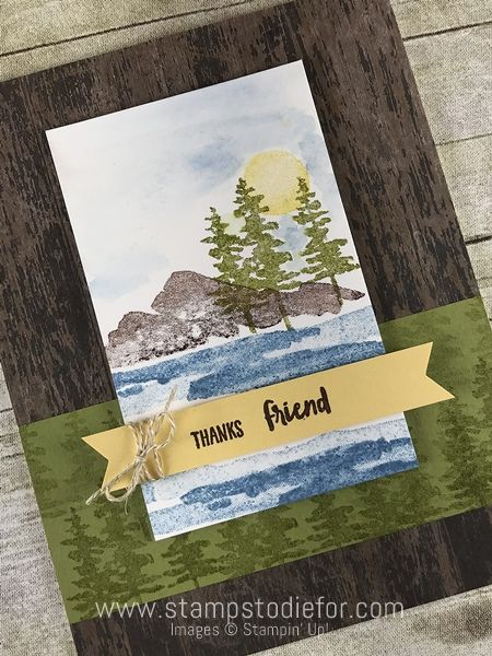 Border Buddy Online Class Waterfront stamp set by Stampin' Up! www.stampstodiefor.com #waterfrontstampset #stampinup #borderbuddy 3