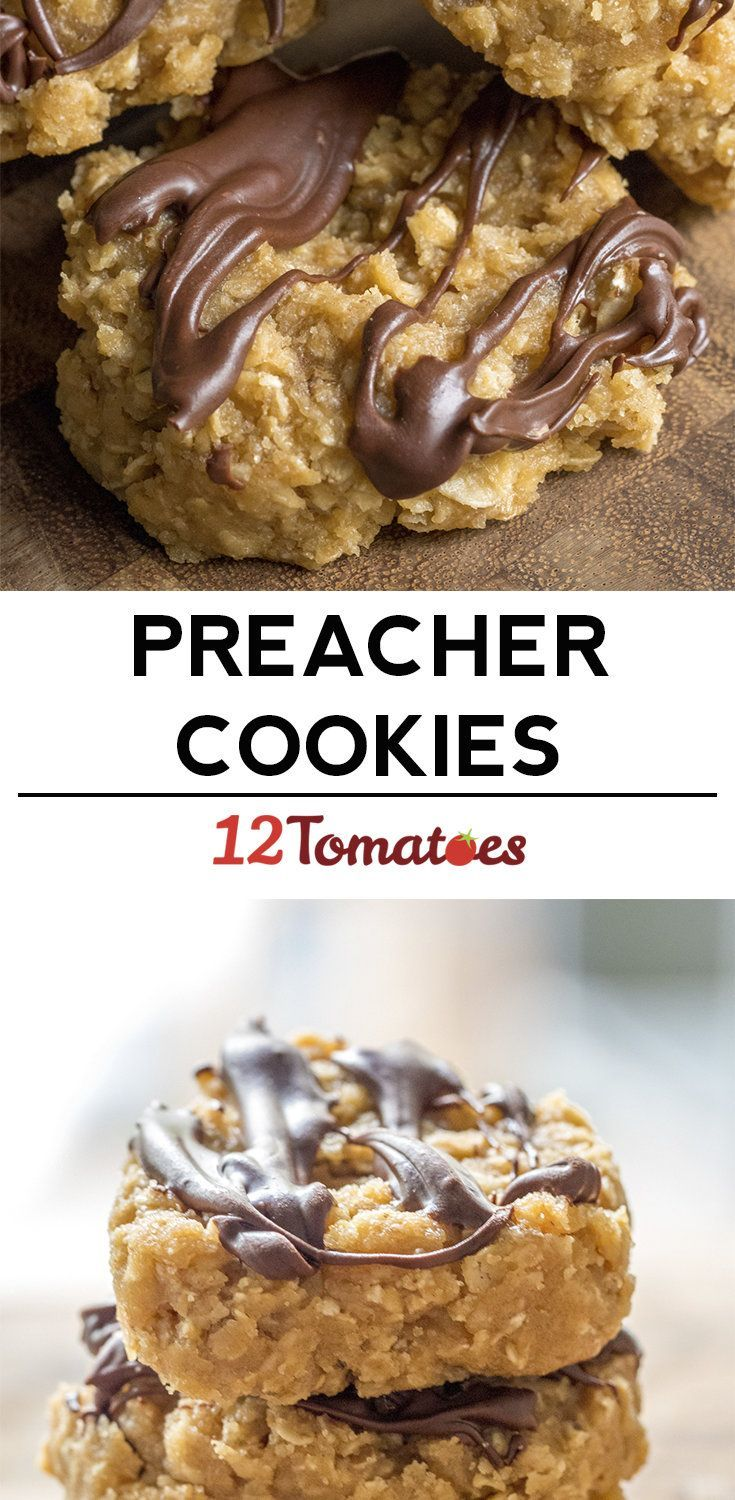 No Bake Preacher Cookies