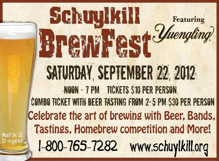 During your stay at the Berry Patch Bed and Breakfast visit the Schuylkill BrewFest on September 22, 2012.The Berries, September 22, Breakfast Visit, Beds And Breakfast, Area Attraction, Schuylkill Brewfest, Berries Patches, Patches Beds
