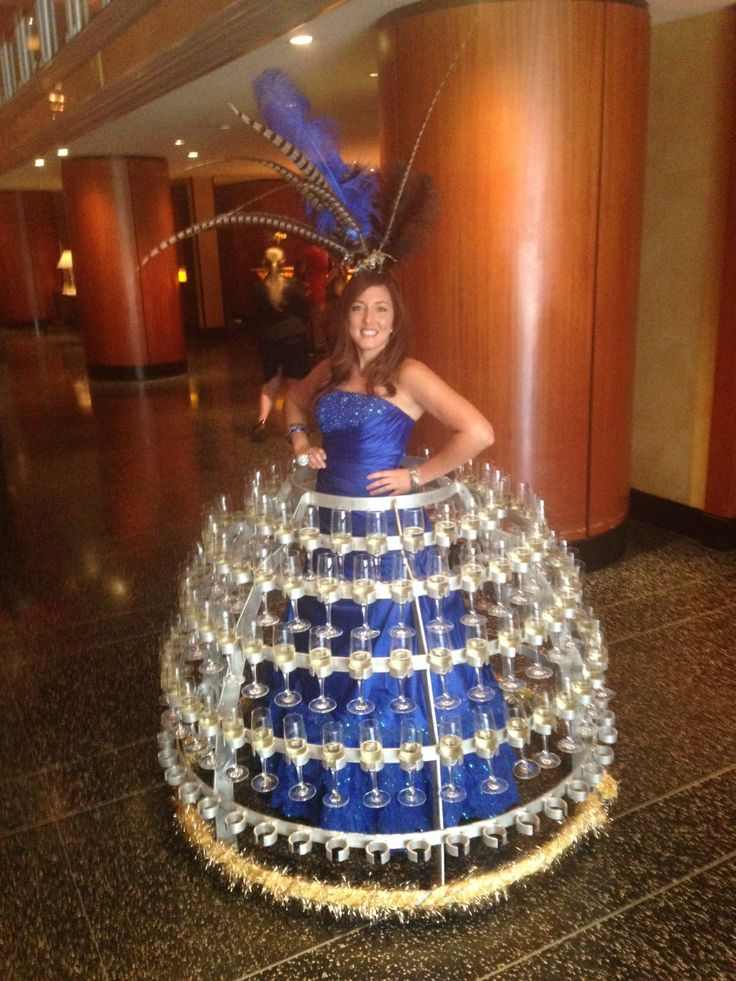 9 Best Images About Strolling Champagne Table On Pinterest