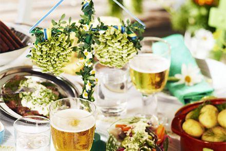 Recipes for Swedish midsummer (in Swedish) Midsommarrecept. Med midsommar börjar sommaren på riktigt. Njut av den goda midsommarmaten! Här finns alla recept du behöver för en härlig midsommarfest.
