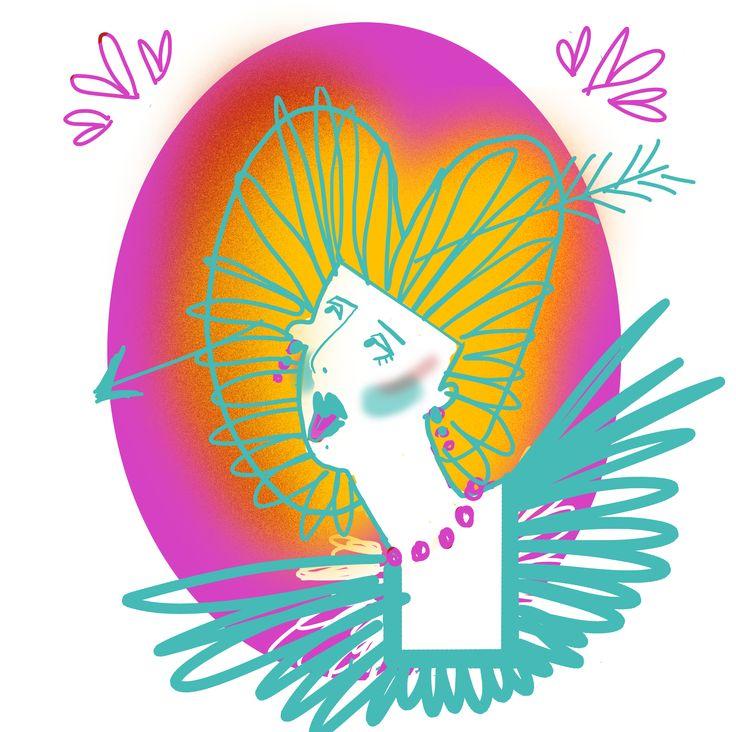 #принцесса #искусство иллюстрация