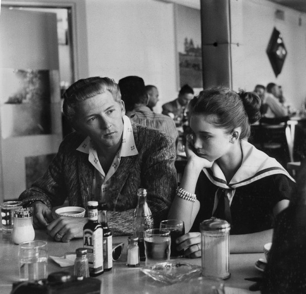 """The beleaguered Jerry Lee Lewis and wife, Myra, arrived home May 27, 1958 tired and confused about the trouble caused by the revelation of their five-month marriage to London reporters. The rock and roll singer and his 13-year-old bride had just arrived at the Memphis airport from London. In 1996, Lewis spoke of Myra: ''I really felt sorry for her. She was a little girl didn't have a thing ... I felt sorry for her and I liked her and I married her and it was an experience."""""""